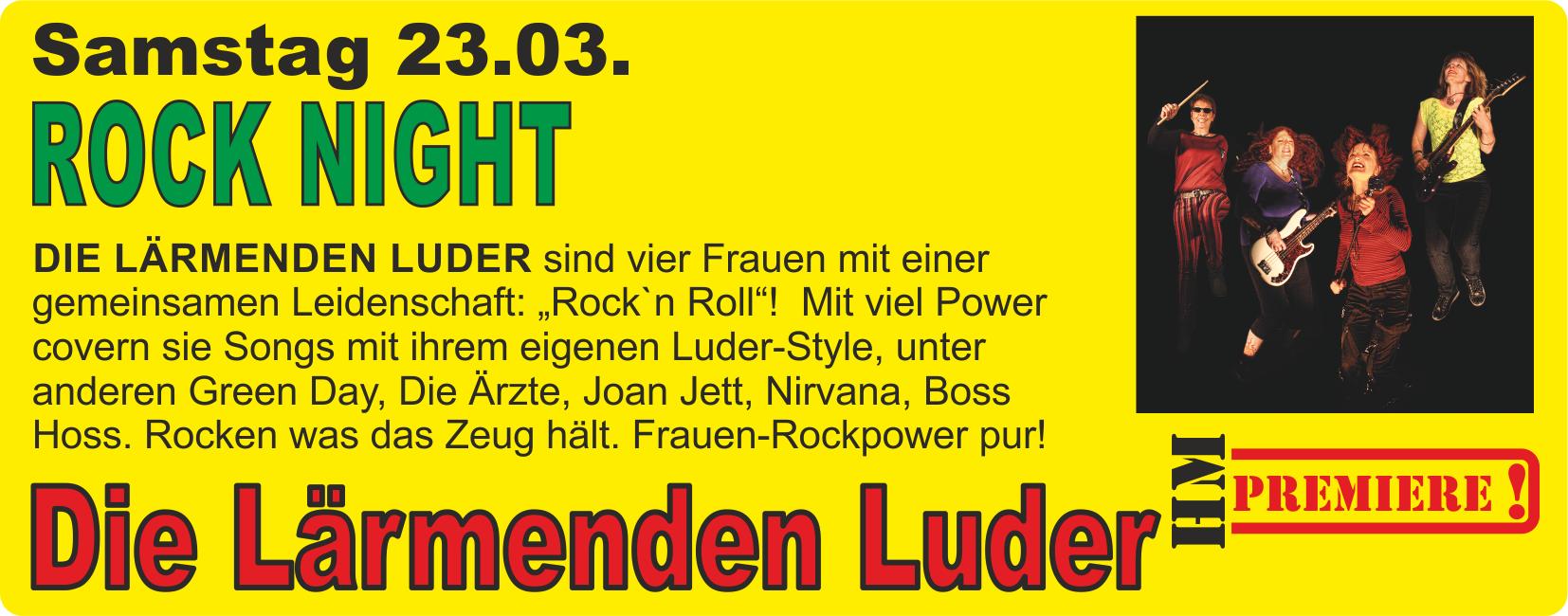 Rock Night mit den Lärmenden Ludern @ Harz Mountain Ranch | Bad Lauterberg im Harz | Niedersachsen | Deutschland
