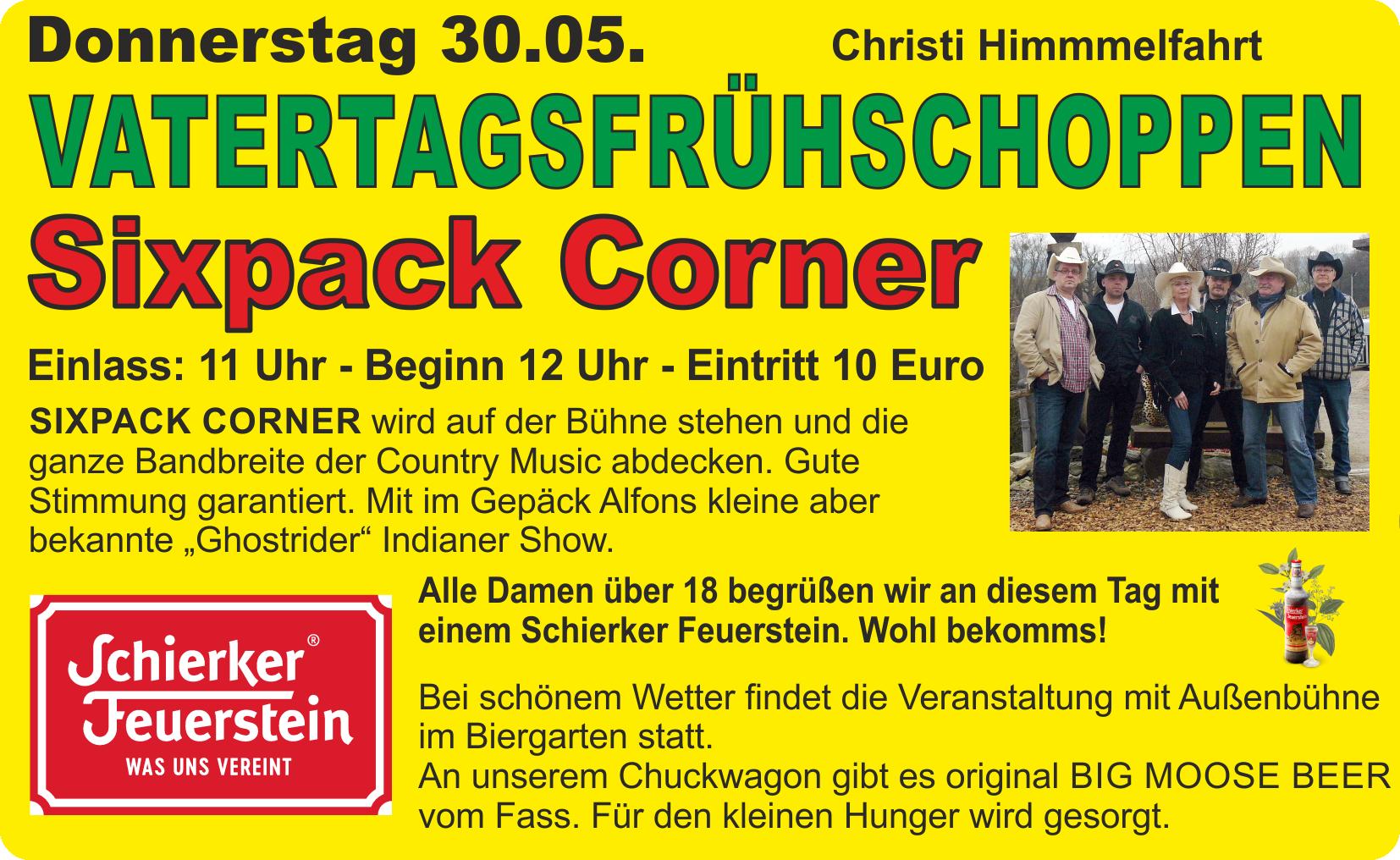 Vatertagsfrühshoppen mit Sixpack Corner @ Harz Mountain Ranch | Bad Lauterberg im Harz | Niedersachsen | Deutschland